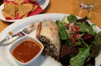 Loteria Grill - Santa Monica, CA. Carnitas burrito