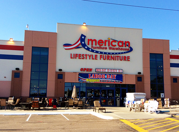 American Furniture Warehouse 2805 N Chestnut St Colorado Springs Co 80907 Yp Com