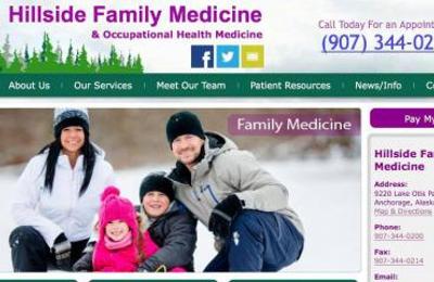Hillside Family Medicine LLC & Occupational Medicine - Anchorage, AK