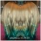 Flaunt Salon - Denver, CO. Mermaid hair..