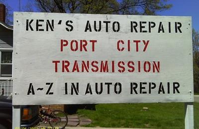 Kens Auto Repair/Port City Transmission 4 Hahn Rd, Manistee