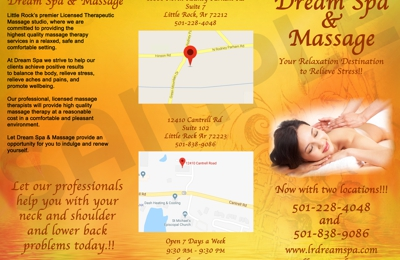 Dream Spa and Massage - Little Rock, AR