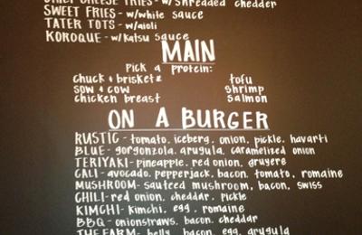 Rustic Burger - Valencia, CA