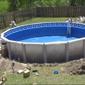 Blue World Pools - Atlanta, GA. All Done!
