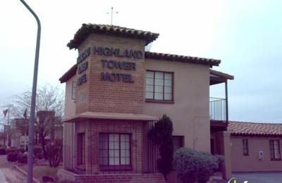 Highland Tower Motel - Tucson, AZ