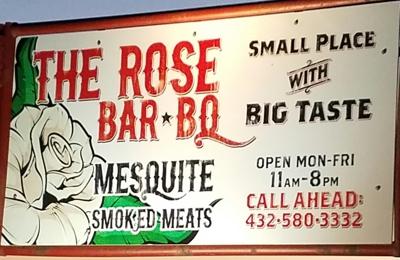 The Rose Bar B Q - Odessa, TX