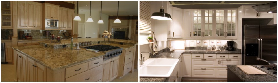 Kitchen Cabinets And Countertops Latino Carpentry Finish Hialeah Garden Fl
