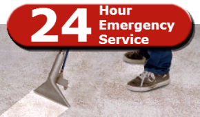24-Hour Emergency Carpet Cleaning