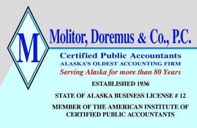 Molitor Doremus & Company PC CPA's - Anchorage, AK