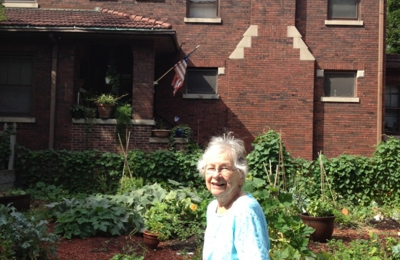 Bethany Evangelical Lutheran Church - Chicago, IL. My mother and our old home in Chicago. the parsonage of Bethany Ev. Lutheran Church.