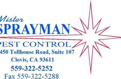 Mister Sprayman Pest Control - Clovis, CA