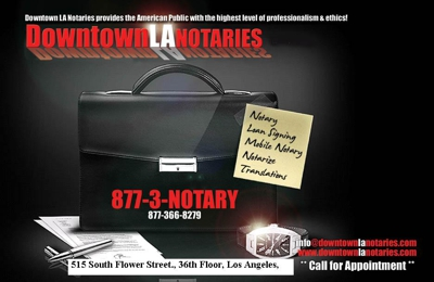 Downtown Los Angeles Notary - Los Angeles, CA