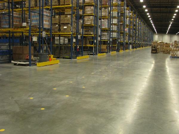 concrete flooring warehouse