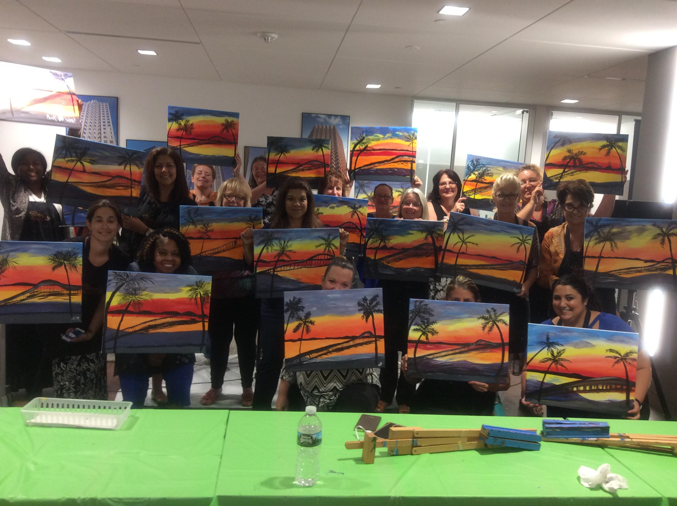 Painting With A Twist 200 Rock Rd Glen Rock Nj 07452 Yp Com