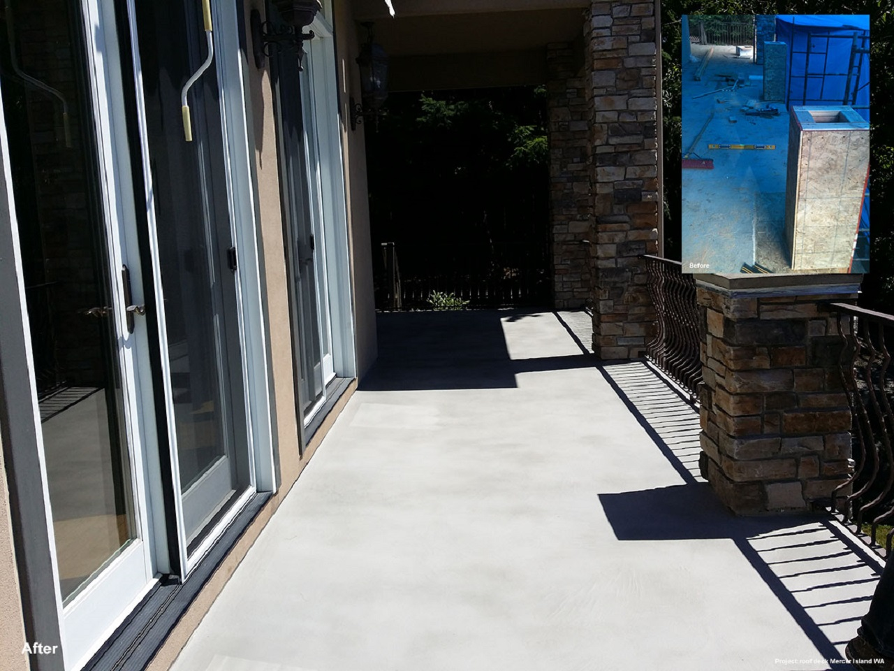 Stamped Concrete Pool Resurfacing