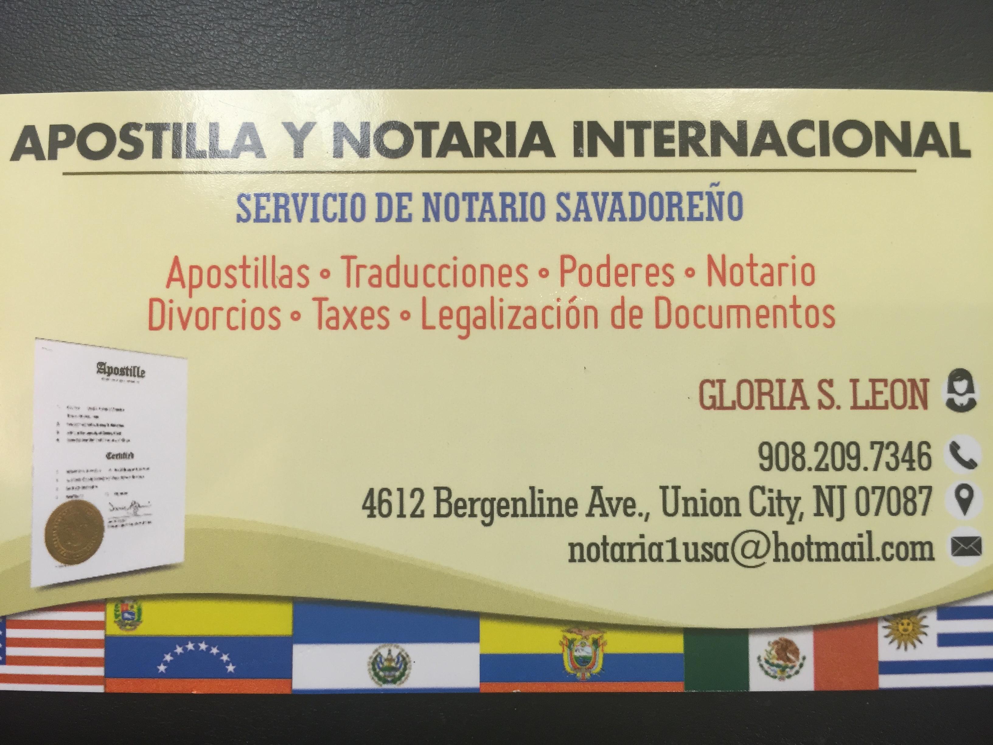 Apostilla y notaria internacional 4612 bergenline ave union city apostilla y notaria internacional reheart Images