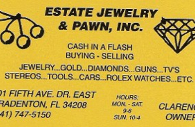 Estate Jewelry & Pawn Inc - Bradenton, FL
