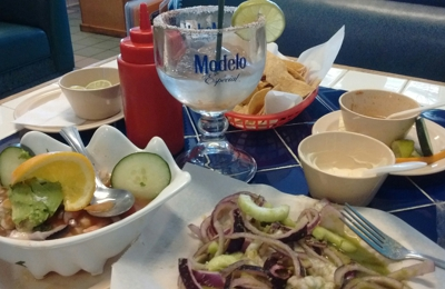 Mariscos Colima-Seafood - North Hollywood, CA. Aguachile and cockel de camaron