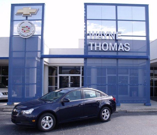 Wayne Thomas Chevrolet Cadillac 1400 E Dixie Dr, Asheboro, NC 27203