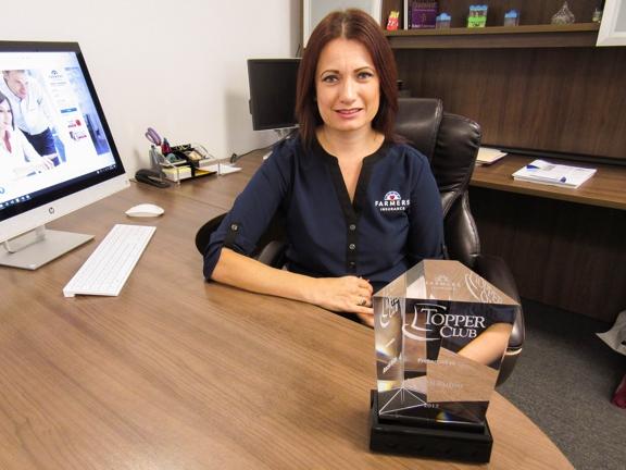 Farmers Insurance - Araceli Rubio - El Paso, TX. Araceli Rubio Farmers Insurance Topper Club