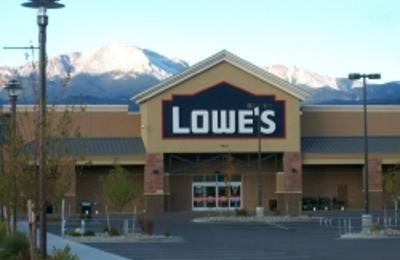 Lowe S Home Improvement Colorado Springs Co