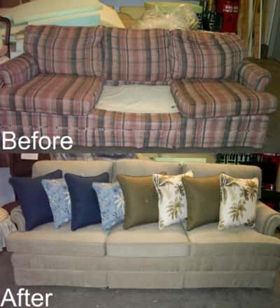 Couch - Before-After