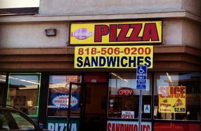 Lenzini's Pizza - North Hollywood, CA. Entrance