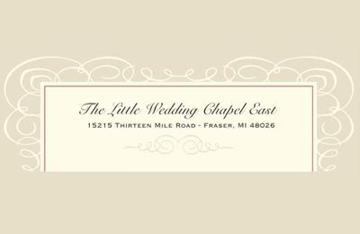 The Little Wedding Chapel - Fraser, MI