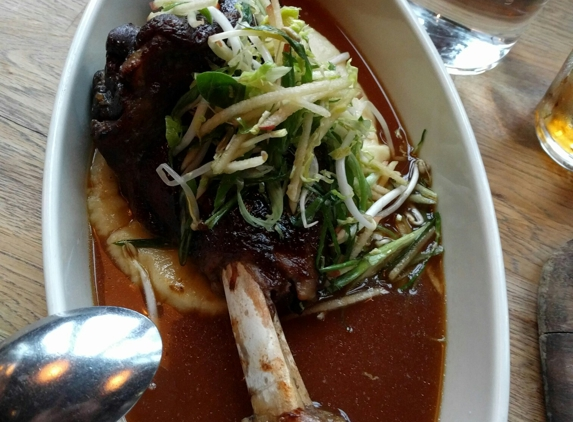 Girl & The Goat - Chicago, IL. goat shank