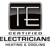 TE Certified Electricians Heating & Cooling