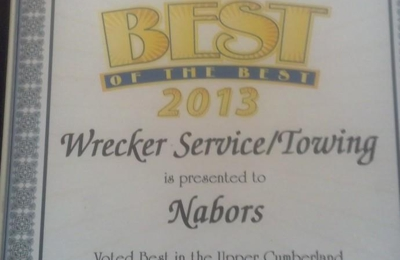 Nabors I-40 Service 1547 E Spring St, Cookeville, TN 38506