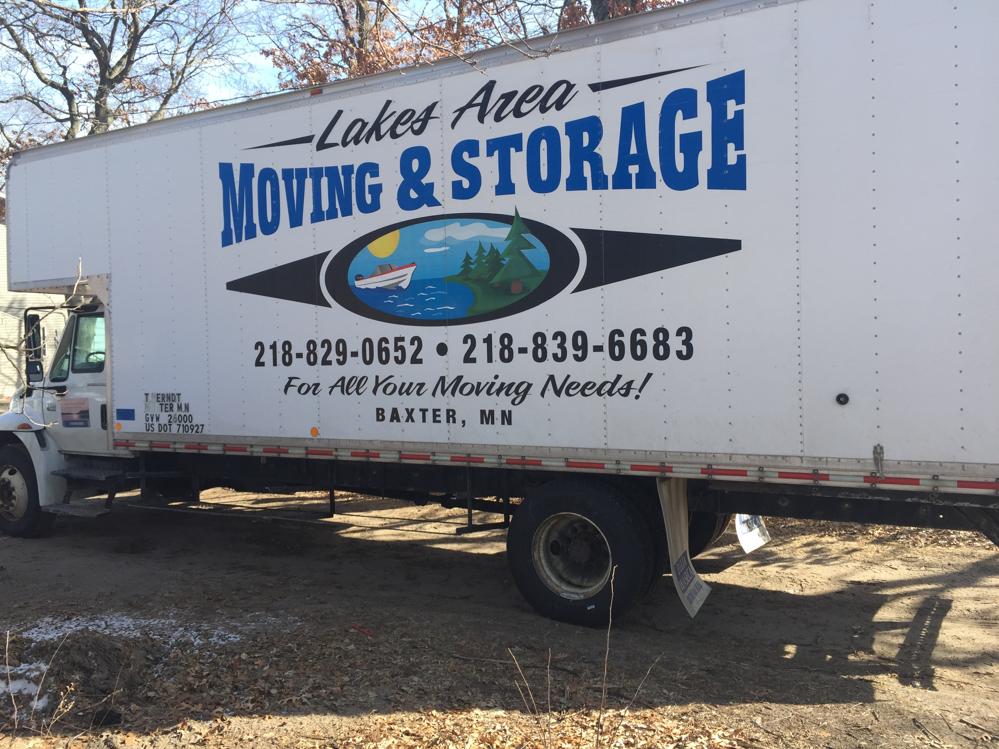 Lakes Area Moving Amp Storage 1693 W Gull River Rd Sw
