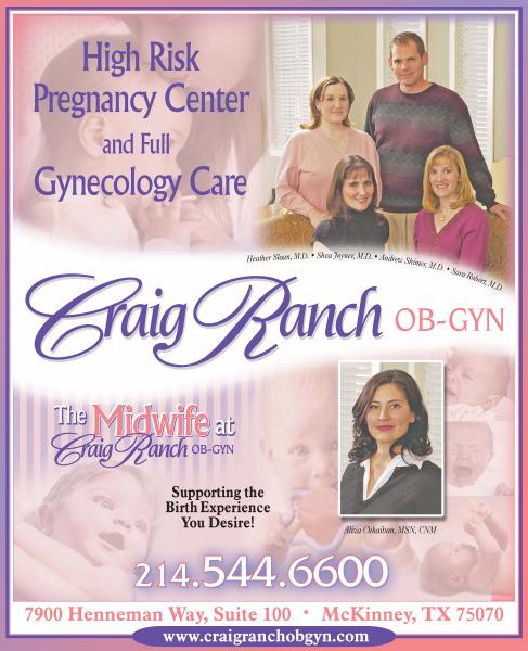 Craig Ranch OBGYN 7900 Henneman Way Ste 100, Mckinney, TX