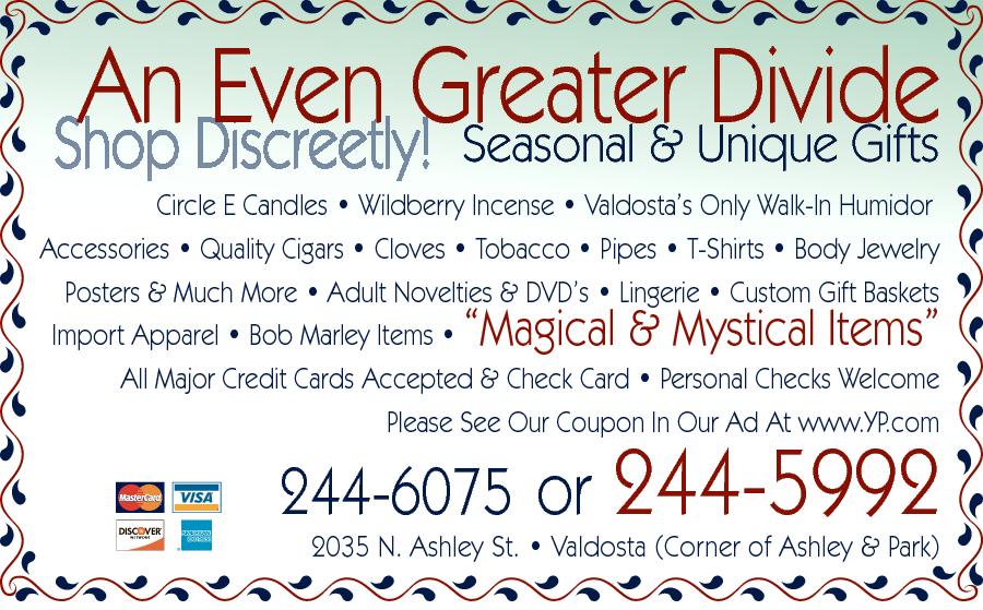 An Even Greater Divide 2035 N Ashley St, Valdosta, Ga -5907