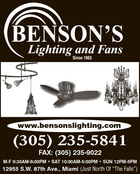 Phone Book  sc 1 st  Yellow Pages & Bensonu0027s Lighting u0026 Fans Miami FL 33176 - YP.com azcodes.com