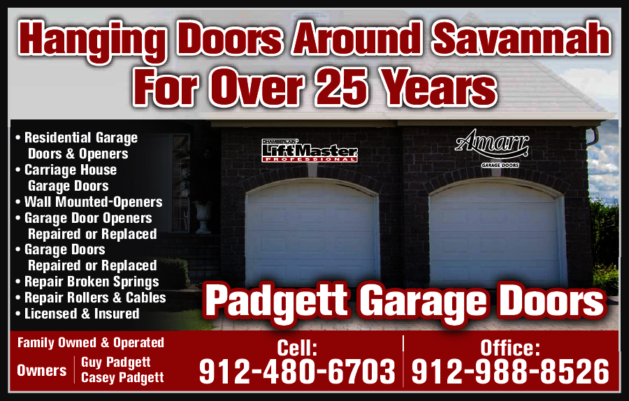 Padgett Garage Doors Savannah Ga Garage Designs