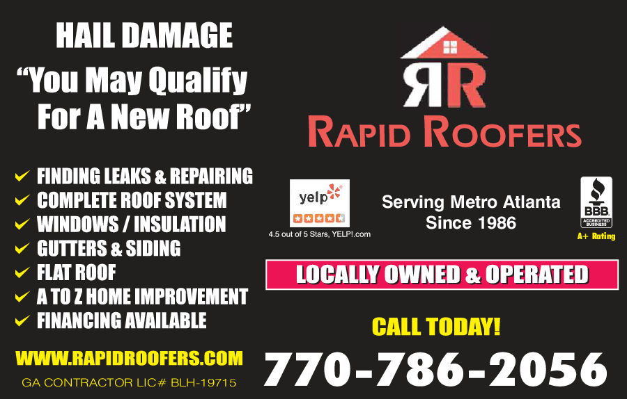 Rapid Roofers 1625 Hidden Shoals Dr Se Conyers Ga 30013 Yp Com