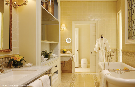 Bathroom Design Ideas - The Fairmont San Francisco Penthouse Suite