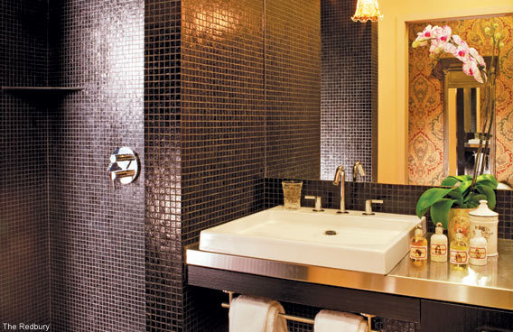 Bathroom Design Ideas - The Rebury Hotel