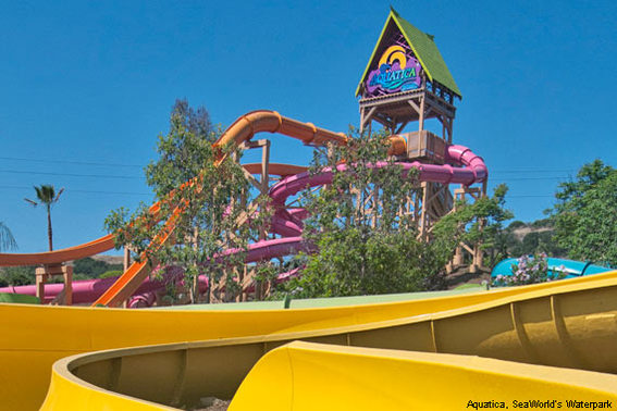 WooHoo Falls at Aquatica, SeaWorld's Waterpark