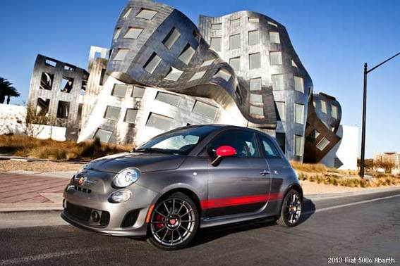 2013 Fiat 500 Abarth and 500c Abarth