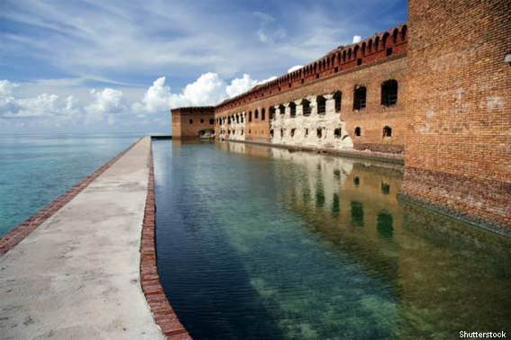 Garden Key Campground - Dry Tortugas National Park, Florida