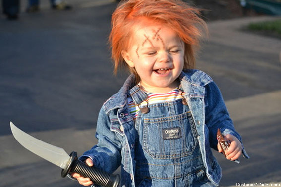 15 Scary Good Halloween Costumes for Kids - Chucky Doll ...