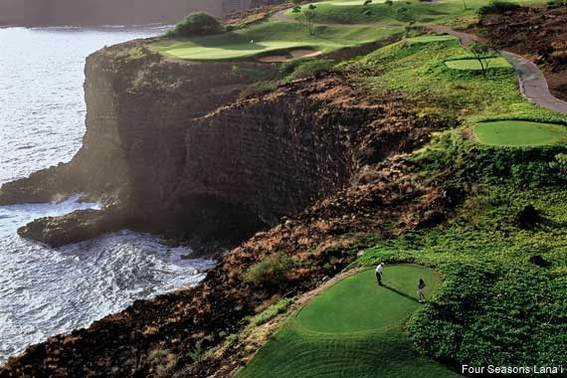 Tee Off at Four Seasons Lana'i