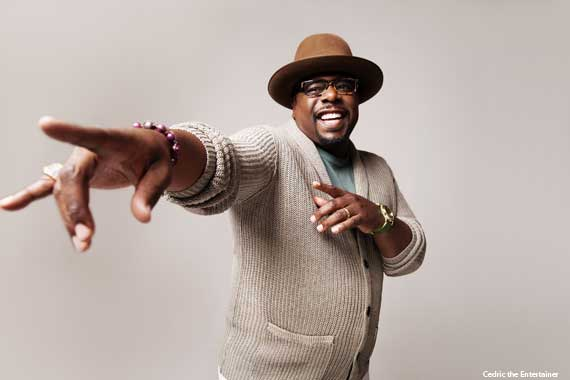 Cedric the Entertainer's Favorite Places to Chill After a Gig