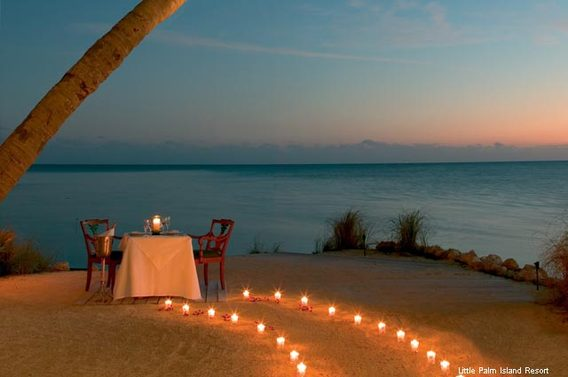 10 perfect places to propose - little palm island resort and spa