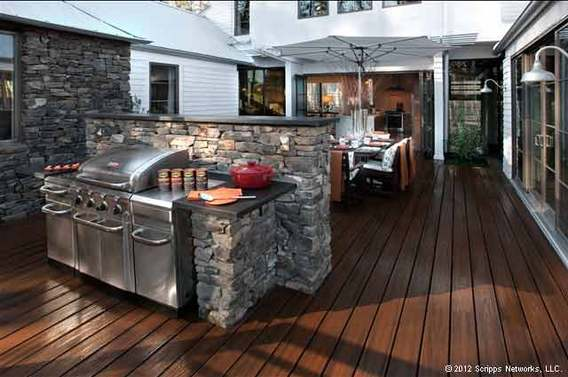 Landscape Design Trends - Beautiful Barbecues, Kemp Hall Studio