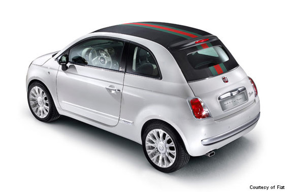 The High-Fashion Fiat 500 By Gucci