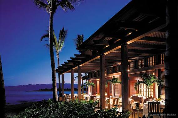 Pahu i'a at Four Seasons Hawaii, The Big Island