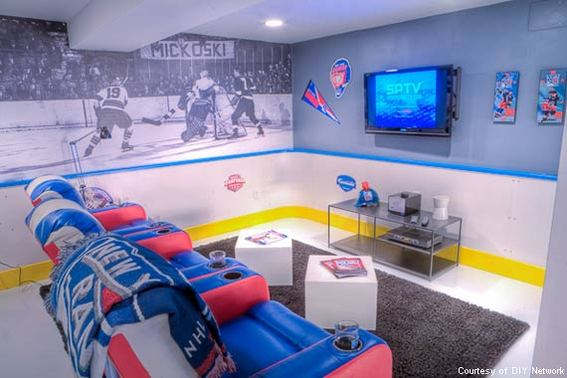 The NHL Hockey Cave